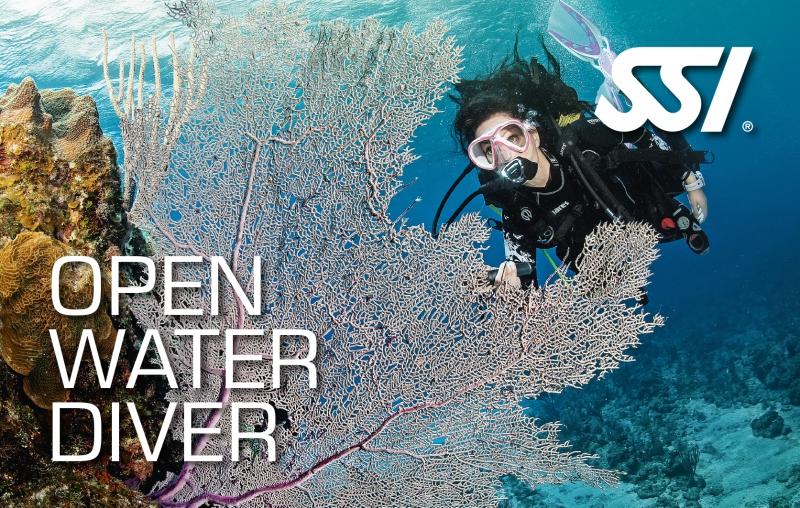 SSI Brevet Open Water Diver